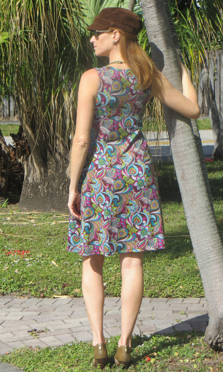 Cafe and Plum Pucci Short Twist Dress