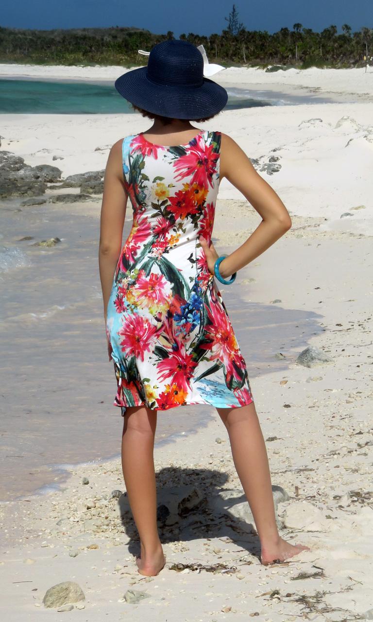 Botanical Bloom Short Twist Dress