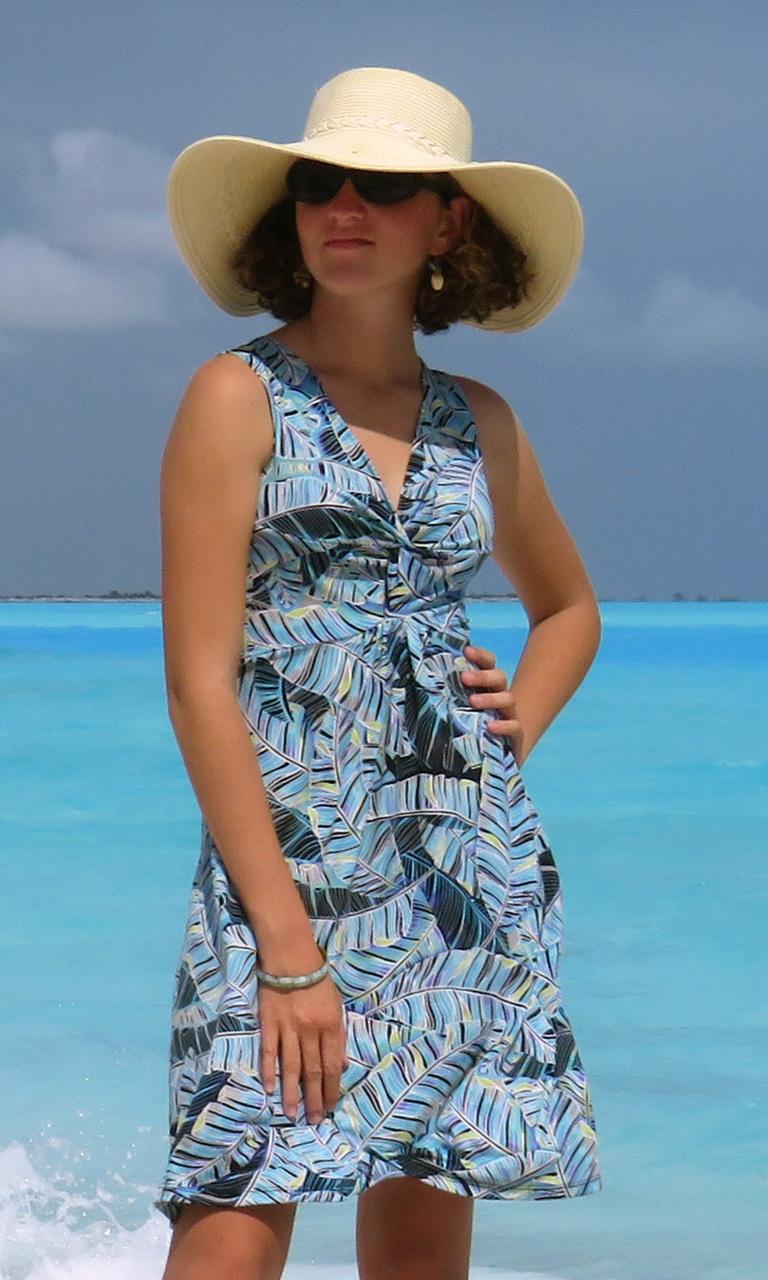 Peri Palms Short Twist Dress