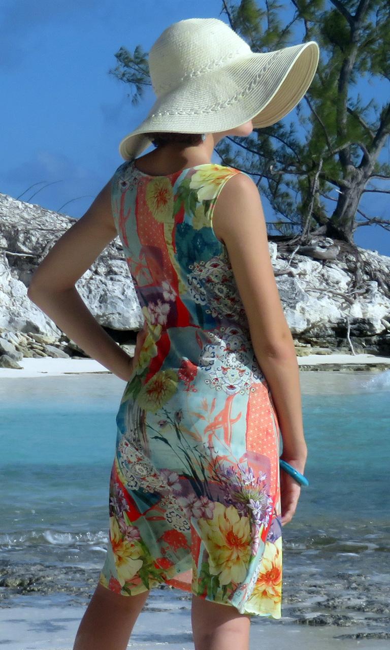Midsummer Dream Notch Dress