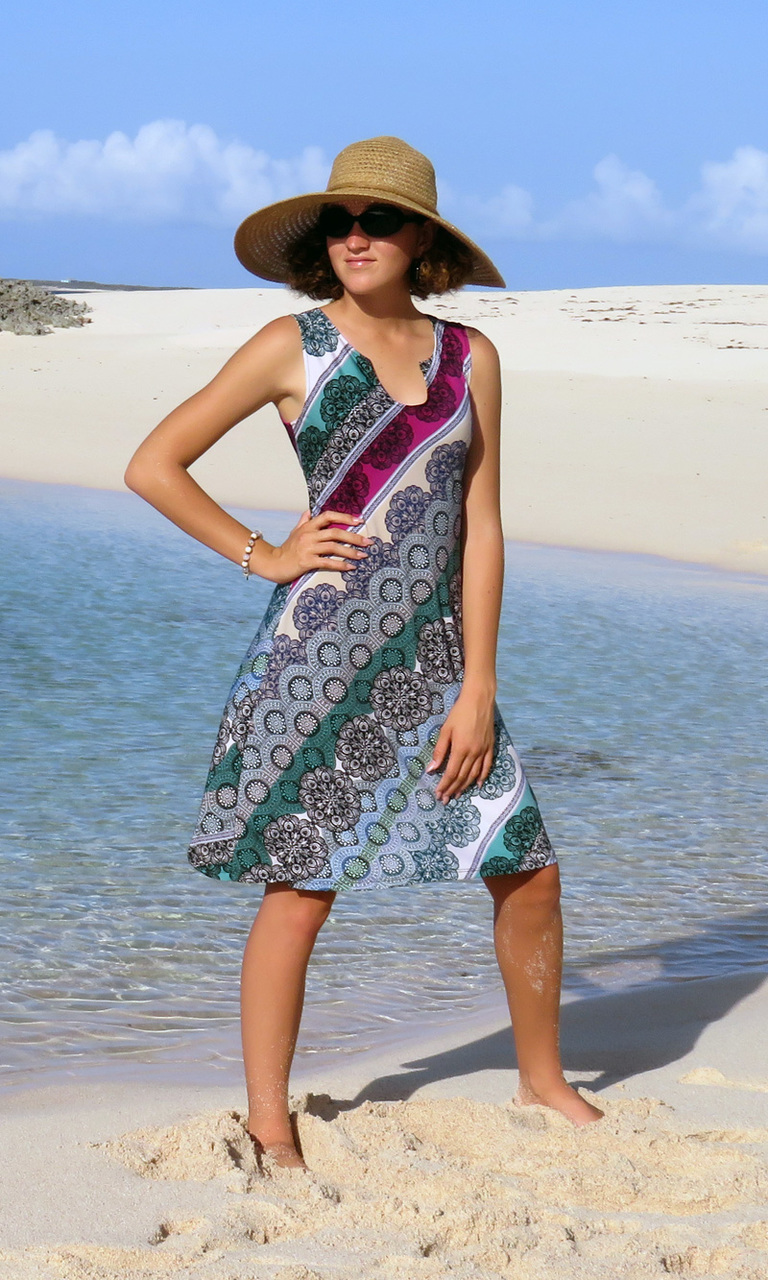 Jade & Berry Bliss Notch Dress