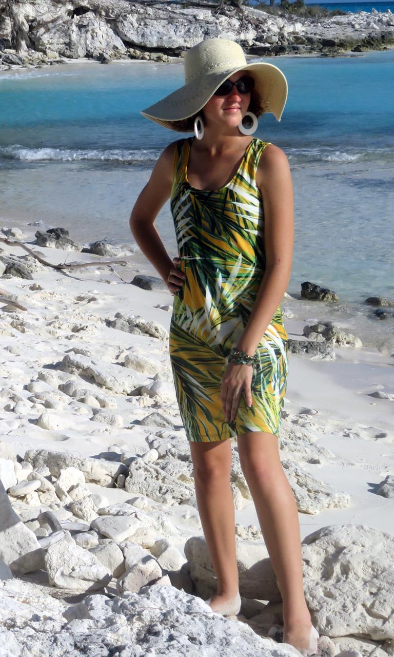 Canary Palms Tank Dress