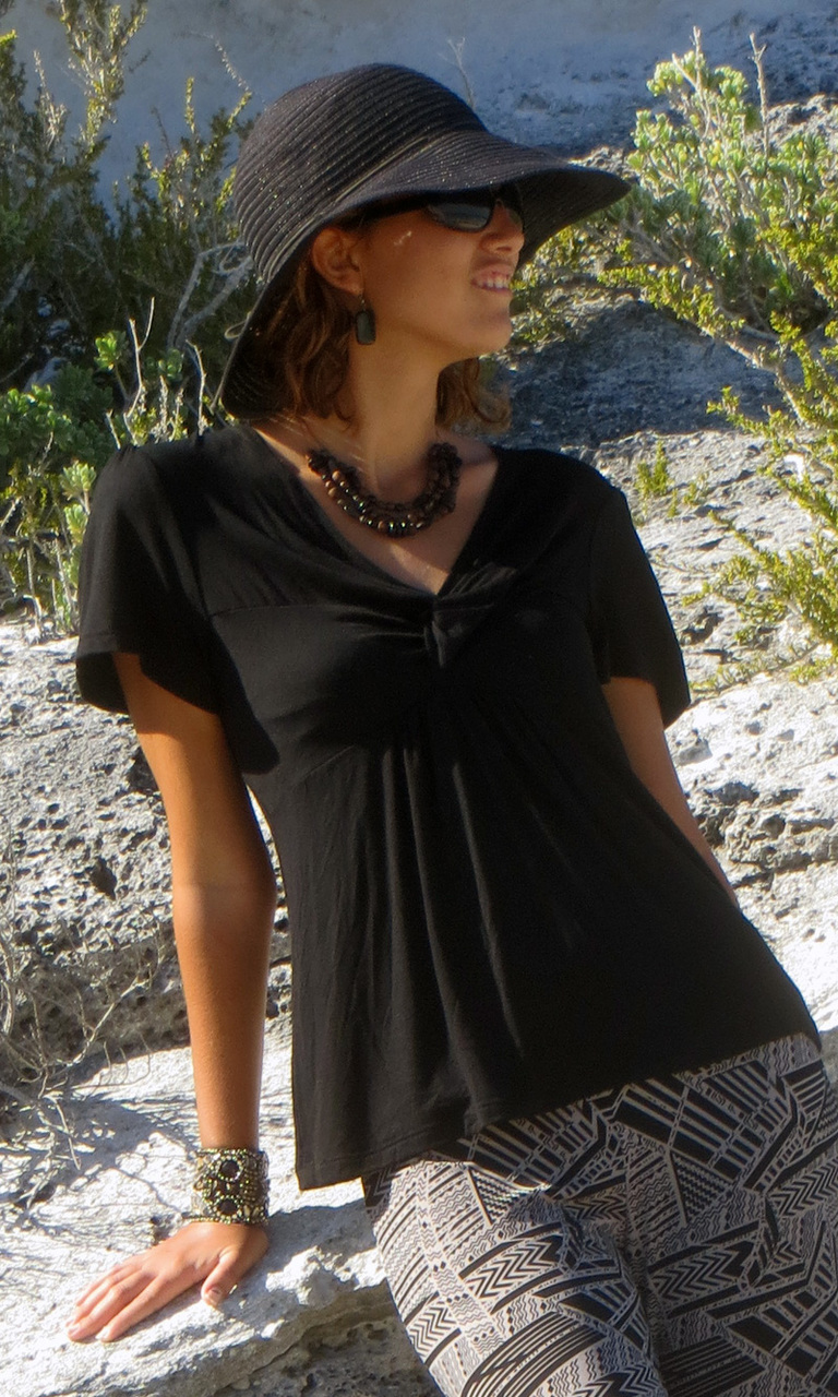 Solid Jersey Bella Top-ONLY SMALL LEFT!!
