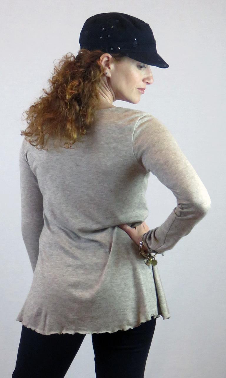 Soft Sweater Knit Long Sleeve Nancy Tunic