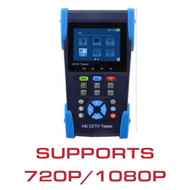 HD-TVI/Analogue test monitor