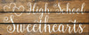 Shown in Walnut Stain with Cottage White lettering