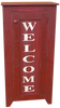 Shown in Old Burgundy with optional lettering from a vertical 9x36 sign