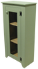 Shown in Solid Sage with a screen door
