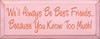 Shown in Old Baby Pink with Paprika lettering