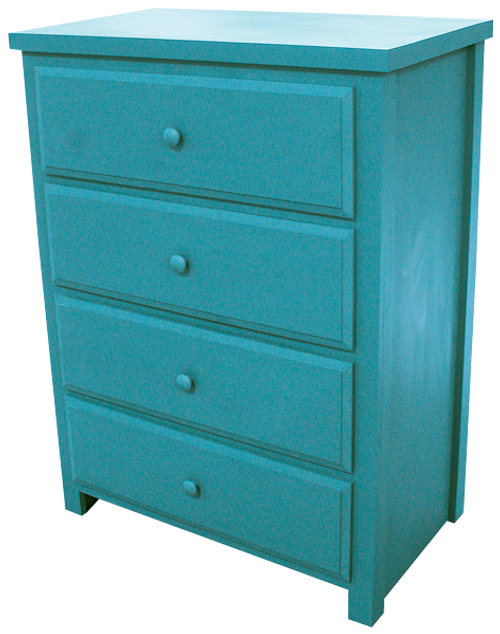 Shown in Old Turquoise