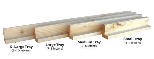 Scramble Tile Trays