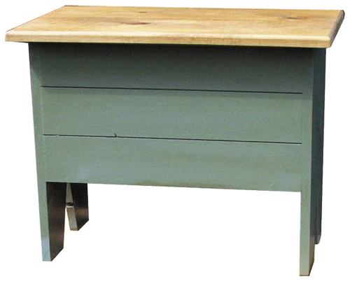 Shown in Old Sage with Stained top