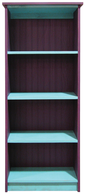 Wood Bookcase 5x2
