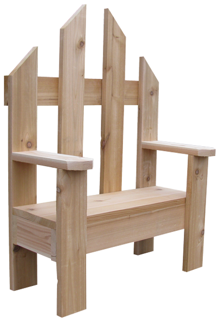 Shown with planter inset seat