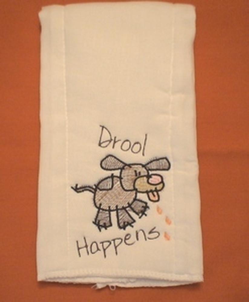 Dog Towel - Drool Happens
