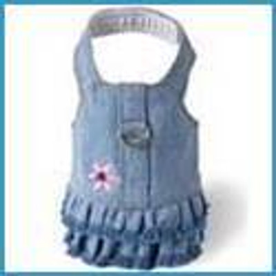 Harness Dress (Denim)