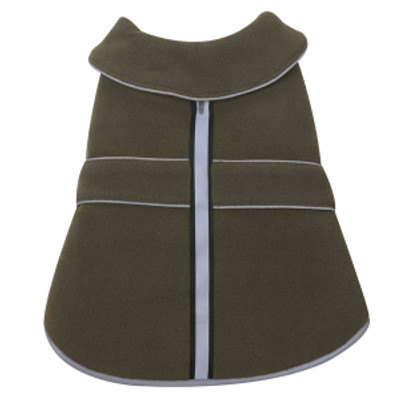 Casual Canine Thermal Fleece Jacket - Small