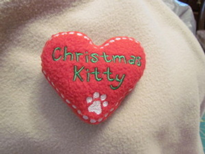PFT Christmas Kitty Toy