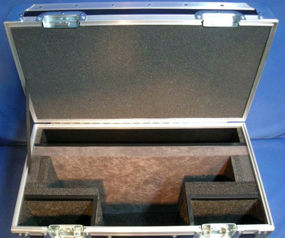 Panasonic BT-LH 17 Series Custom ATA Shipping Case Interior View