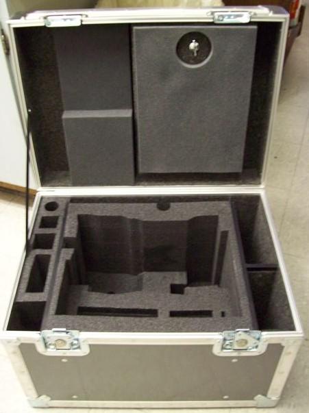 Alexa Camera ATA Shipping Case - Interior View
