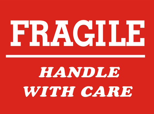 4 x 6 shipping labels fragile handle with care