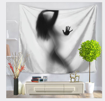 Silhouette Of An Woman - Large 150 x 130 cm