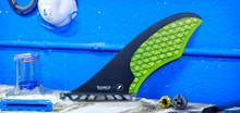 Future Fins - Yellow Triangle Cutaway(medium) 52.4 - SUP All-Around Fin