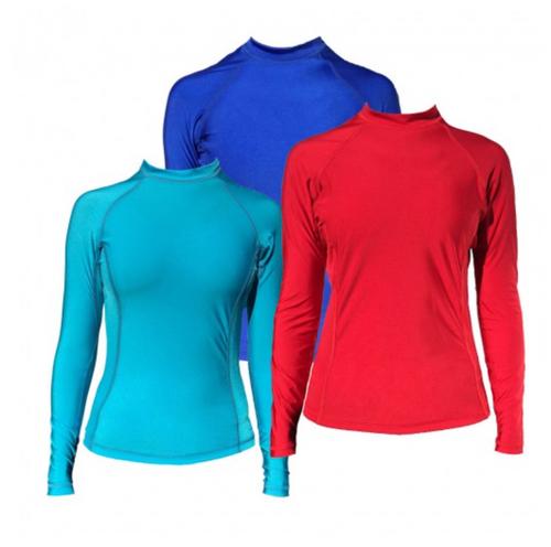 Multi-colored Women's Koredry Long Sleeve Rashguard