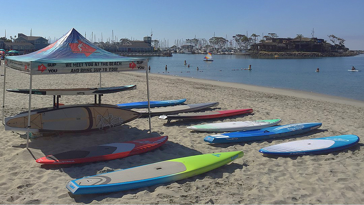 Dana Point Baby Beach Paddle Board Rentals