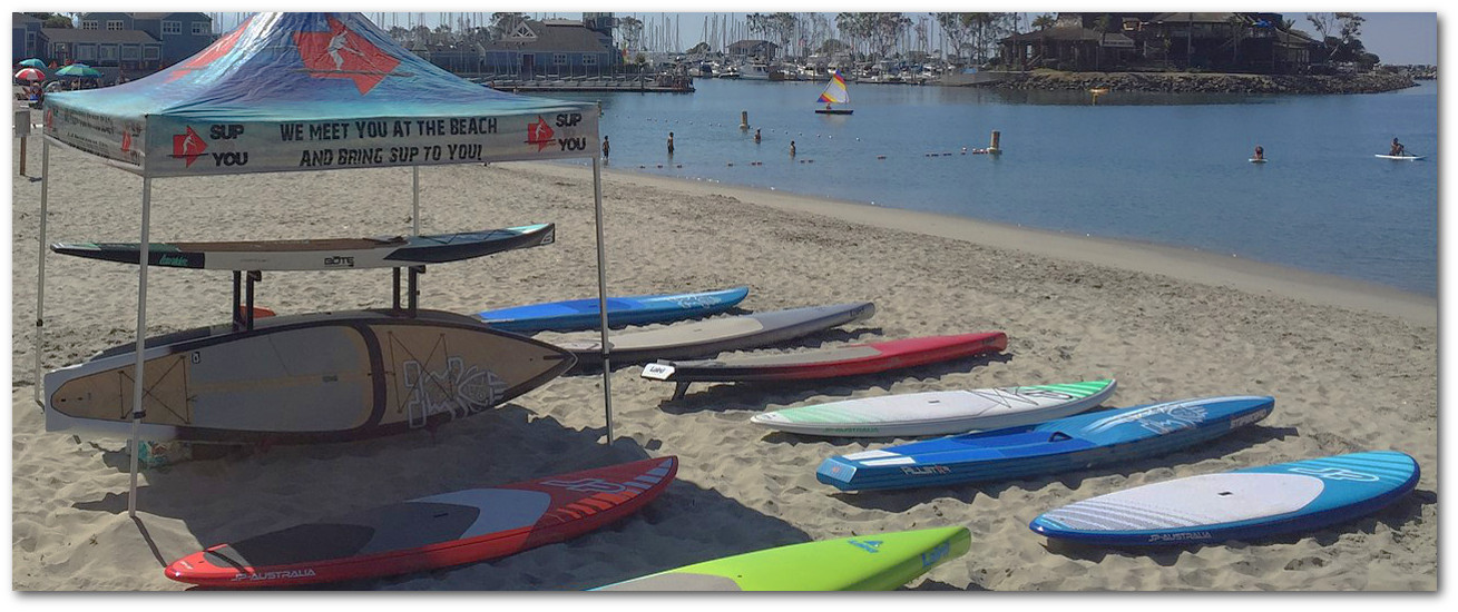 Sup to You weekly demo day in Dana Point California