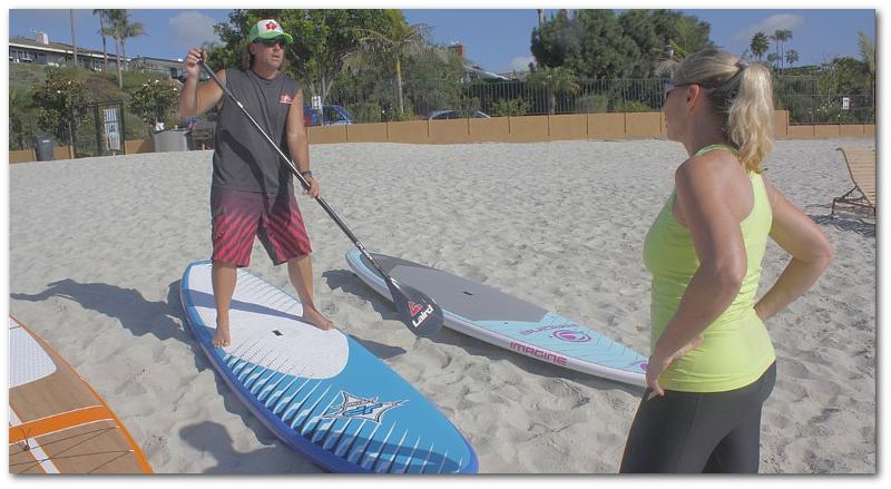 Sup to You offers different ways to test ride different paddle boards before you buy. A Private Demo is one way.