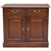 FLINT 2 DOOR DRAWER BUFFET - 900(H) X 1000(W)- MAHOGANY OR CHOCOLATE (NOT AS PICTURED) - (MODEL 20-1-19-13-1-14-9-1)