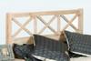 SEASIDE (311) QUEEN 3 PIECE BEDSIDE BEDROOM SUITE - WHITEWASH