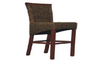 FLORENCE (VACH-06-WH-LH) BAR STOOL WITH HYACINTH - LIGHT HONEY