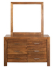 CUBA DRESSING TABLE -  1770(H) X 1300(W) - DRIFTWOOD EARTH