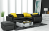 BELSTAN  CORNER LOUNGE SUITE EXCLUDING  COFFEE TABLE (F3014C)  - CHOICE OF LEATHER AND ASSORTED COLOURS AVAILABLE
