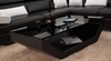 GORICA  CHAISE LOUNGE SUITE (K5009C)  - CHOICE OF LEATHER AND ASSORTED COLOURS AVAILABLE