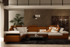 HESNEY  CHAISE  & CORNER  LOUNGE SUITE (K5014)  - CHOICE OF LEATHER AND ASSORTED COLOURS AVAILABLE