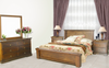 DONSILIA KING  5 PIECE DRESSER BEDROOM SUITE  ( MODEL- 11-1-11-1-4-21 ) - RUSTIC