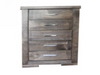 RUSTIC 5 DRAWER CHEST (RT245) - 1090(H) x 680(W) -RUSTIC
