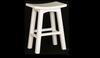 LATSON WOODEN BAR STOOL / KITCHEN BENCH (BR077WD) - SEAT: 770(H) - WHITE