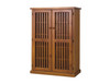 CRYSTAL SHOE CABINET - 1500(H) X 960(W) - CHOICE OF COLOURS AVAILABLE
