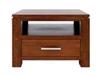 GRACE (1) ONE DRAWER  LAMP TABLE (19-15-6-9-1) 600(W) - BLACKWOOD OR WALNUT