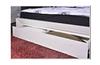 GEOLAND QUEEN  5 PIECE DRESSER  BEDROOM SUITE WITH FOOTEND STORAGE DRAWER (MODEL 13-1-18-22-9-14) -WHITE