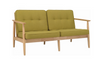 ENTEX   2SEATER  + 1 SEATER  SOFA LOUNGE - OASIS