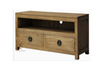 VIENNA 2 DRAWER LOW ENTERTAINMENT UNIT (SB 002 VIE) - 1200(W) - NATURAL TEAK