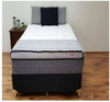 KING SINGLE PRESTIGE POCKET SPRING MATTRESS (390MM) - MEDIUM
