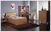 KING SINGLE MILAN (M-17CS) TRUNDLE BED ONLY - BEECH OR WALNUT