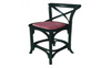 BARISTA (VBR-013) LOW BAR CHAIR - SEAT: 660(H) - BLACK