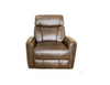 ALANZO ELECTRIC LEATHER  RECLINER  - DARK BROWN
